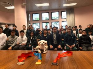 Ebenezer blind school group photo, Hong Kong