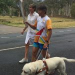 See Lindy in the Queen's Baton Relay