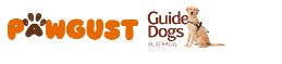 Pawgust Guide Dogs logo